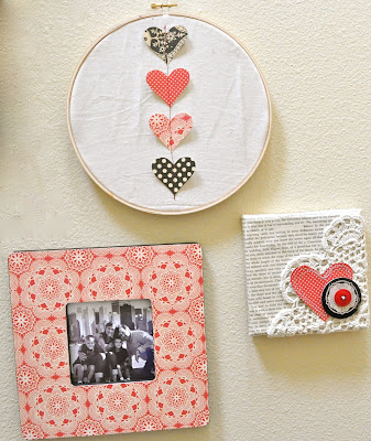 valentine gifts:  easy valentine wall decor
