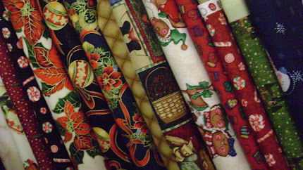 Christmas fabric!