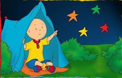 Callou , observant la llum dels estels!