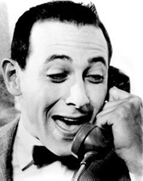 Image result for pee wee herman i'm trying to use the phone