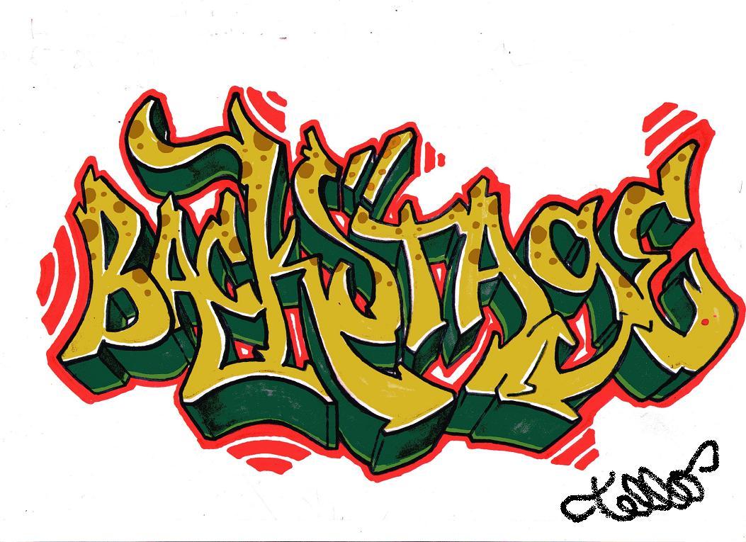 ilustrack dise os de graffitis con rotuladores