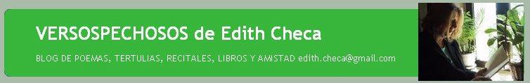 VERSOSPECHOSOS de Edith Checa