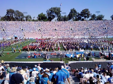Band Day at UCLA, the Rose Bowl!