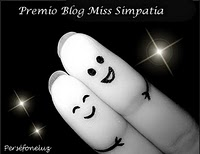 Premio Blog Miss Simpatia