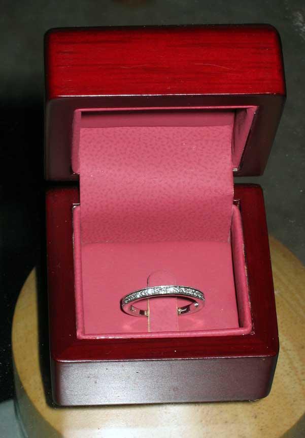 Tying Engangement Ring To Renters Insurance