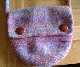 Knitted Felted Bag
