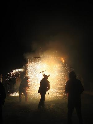Aparells del correfoc: Porta de foc o de l'avern