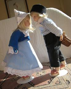 Muñecas de porcelana, hechas por mi
