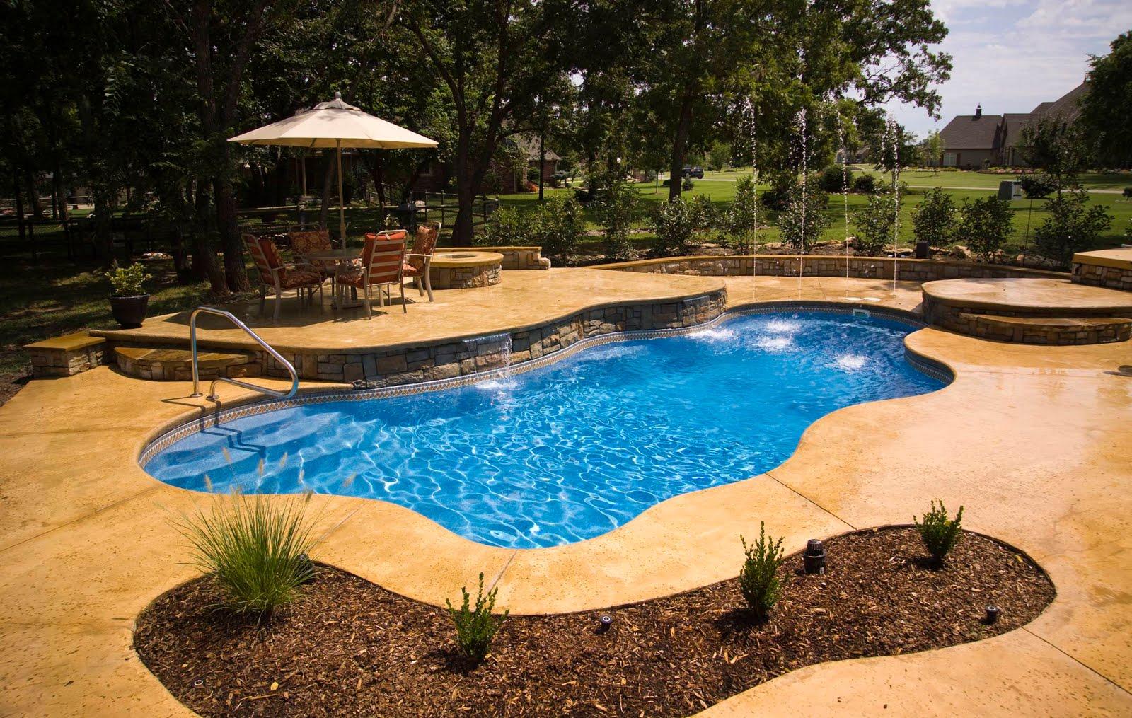 Splash pools north carolina fiberglass swimming pool myths for In ground splash pools