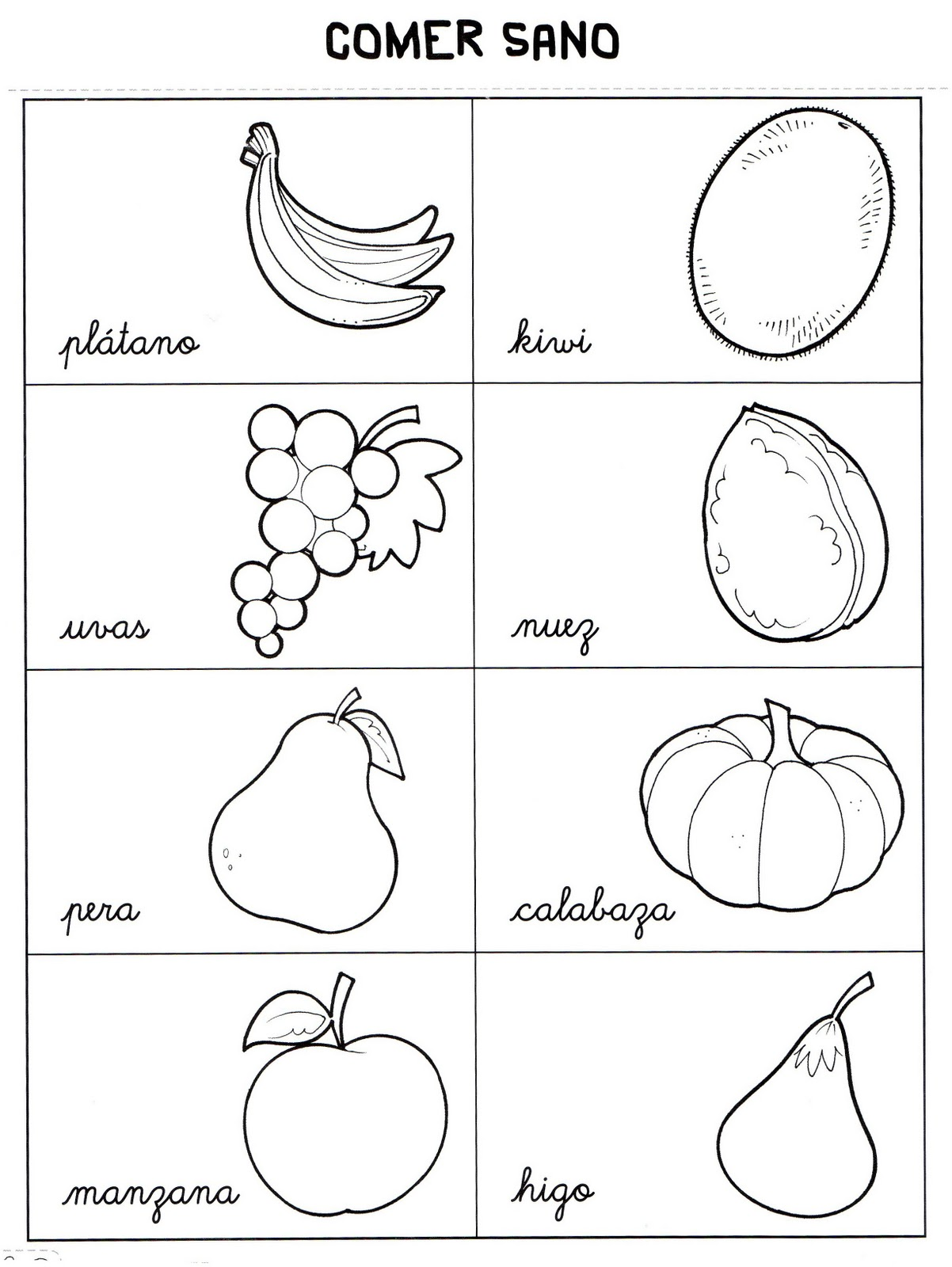 Cositas de pekes: Frutas y frutos del otoño
