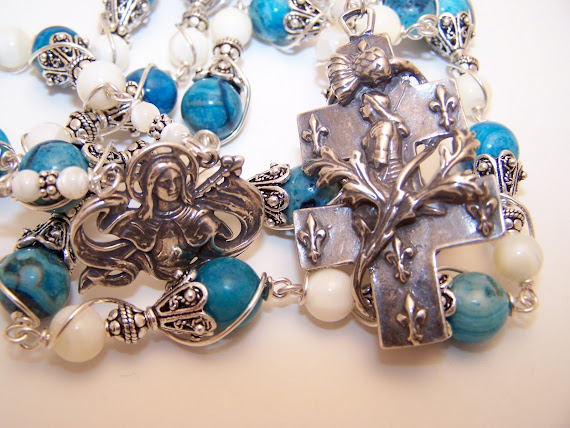 No. 76.  Chaplet Of Joan Of Arc  (SOLD)