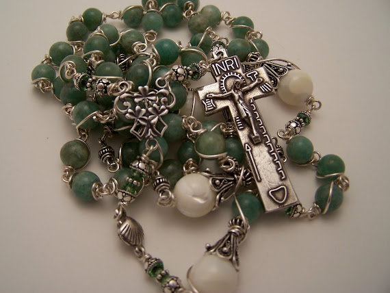No.49.  NEW, Rosary Of Ireland (SOLD)