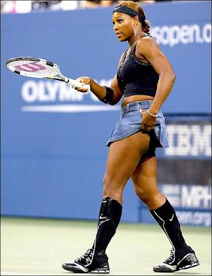 Serena Williams Hot Tennis Wallpaper