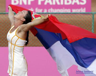 Jelena Jankovic Sexy Wins Tennis Pics