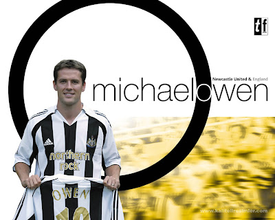Michael Owen Newcastle United Picture