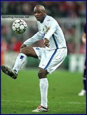 Patrick Vieira Hitting Ball