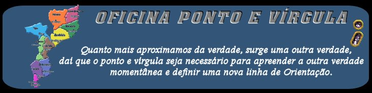 OFICINA PONTO E VÍRGULA