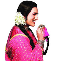Aamir Khan as Female in Tata Sky