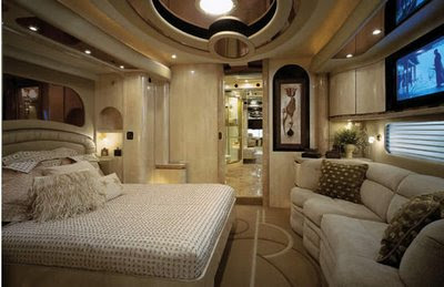 Laxmi Nath Mittal's Luxurious Bus