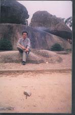Tại hòn Trống Mái - Sầm Sơn Thanh Hoá