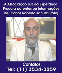 PROCURA-SE PARENTES DE CARLOS ROBERTO JANUZZI
