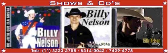 BILLY NELSON Shows e CD's