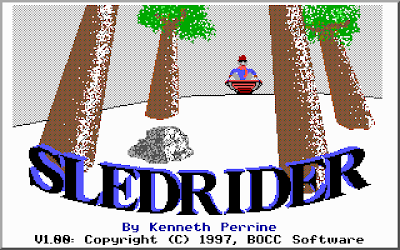 Sledrder title screen