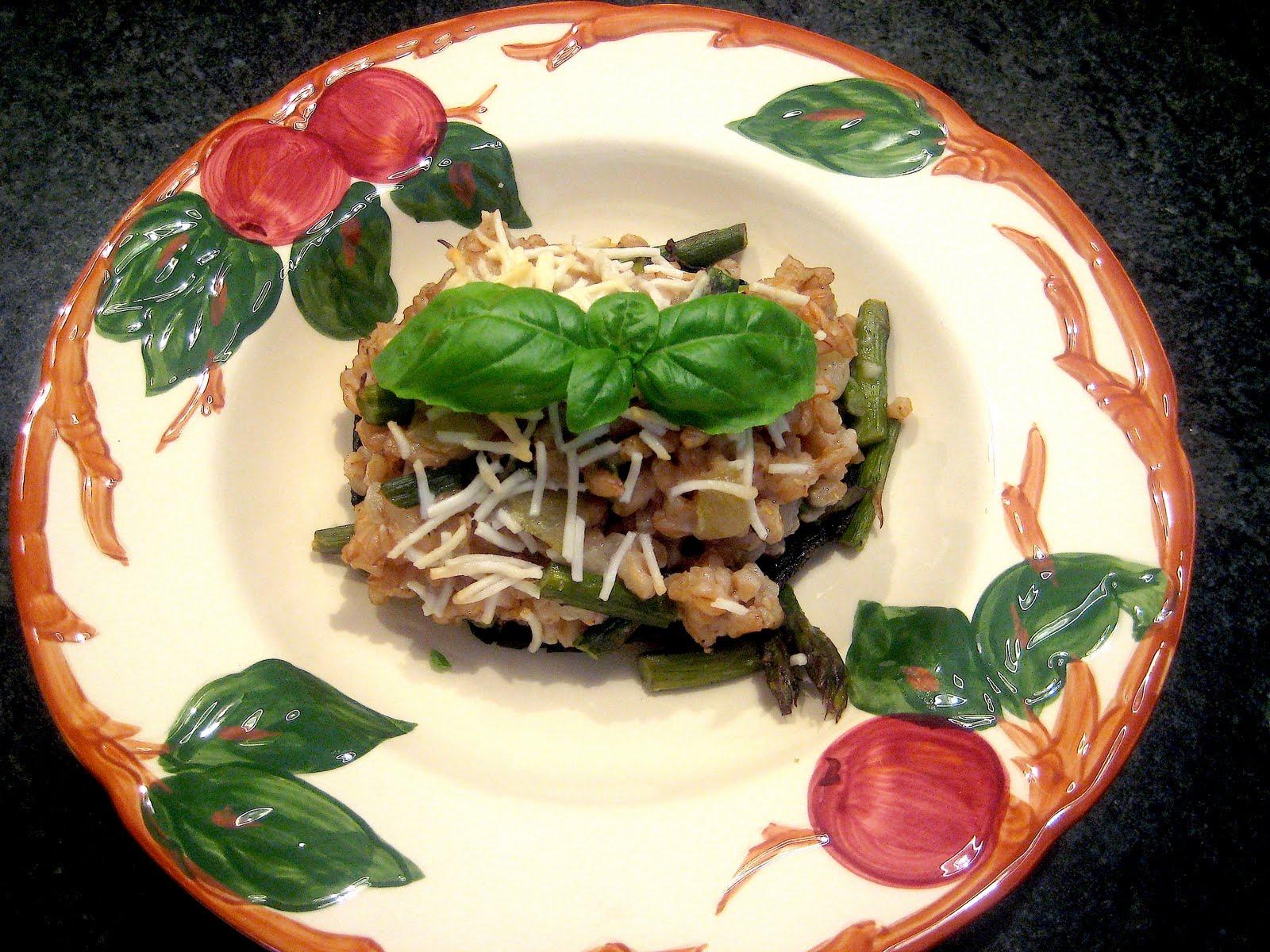 La bella cucina farro risotto for Bella j cucina