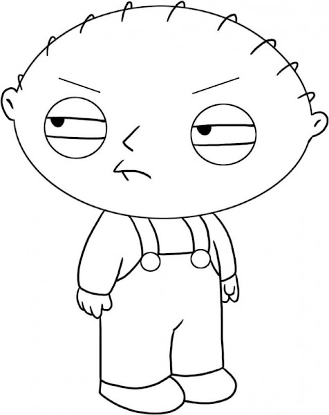 How To Draw Stewie Griffin From Family Guy