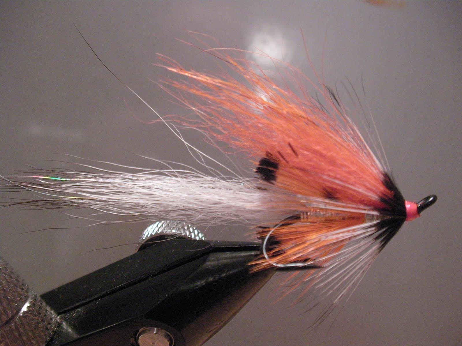Salmon fly silver shadow shrimp salmon fly for Salon fly