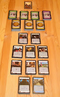 Počáteční rozložení balíčků karet