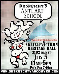 SKETCH-A-THON at Comicon!