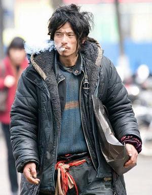 stylish beggar