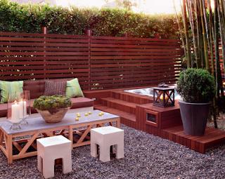 ideias para jardim exterior : D E C O R A ? ? O: Jardins exteriores
