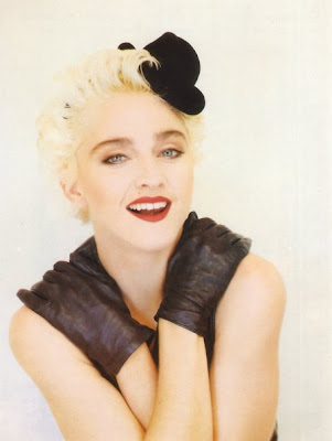 80s Madonna in bisexual the
