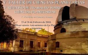 V taller de ciencias planetarias