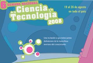 VI Semana Nacional de la Ciencia y la tecnologia