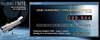 100 mil órbitas del Hubble