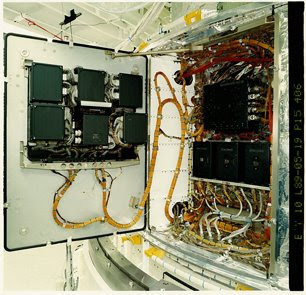 Instrumento de control y manejo de datos de Hubble