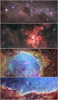Localización de NGC 3324 - Para ampliar