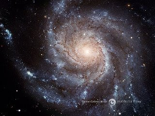 Imagen óptica de la Galaxia espiral M101
