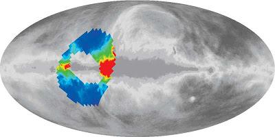 Región del cielo observada por ARCADE