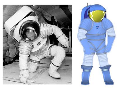 Futuros trajes espaciales - Mark III