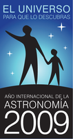 Logo Año Internacional de Astronomía
