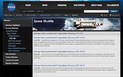 STS-119 Español