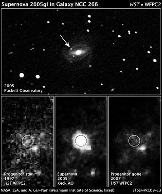 SN 2005gl en NGC 266-Para ampliar