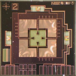 Sensor TES de NIST
