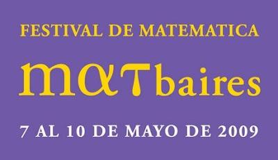 Logo de Matbaires 09