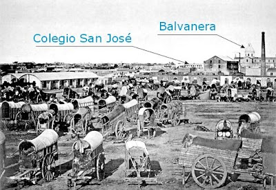 Plaza Once, 1867
