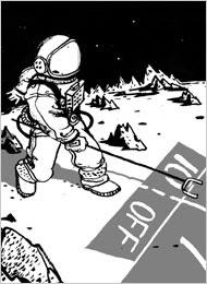 Dibujo astronauta